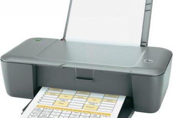 HP DeskJet 1000: przystępne cenowo i wysokiej jakości środki drukarskie