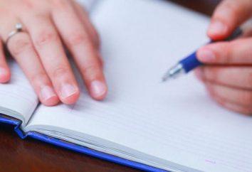 """Der Aufsatz über """"Ich will und ich brauche"""": Empfehlungen für das Schreiben und Beispiele"""