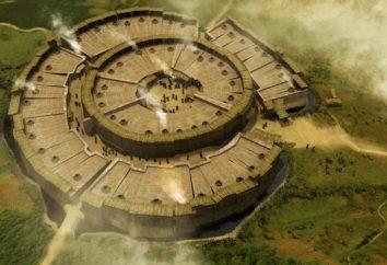 Russe Stonehenge: Arkaim (région de Tcheliabinsk)