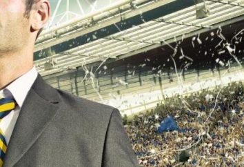 Características de jogos de computador: o que é o gerente do time de futebol ou hóquei?