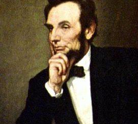 Abraham Lincoln. O presidente dos Estados Unidos, e seu papel na abolição da escravatura