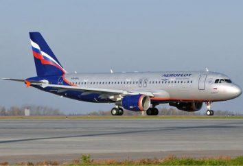 """aeronaves A-320. A-320 – a aeronave """"Aeroflot"""""""