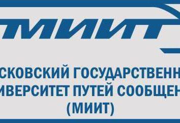 MIIT: opinie studentów, nauczycieli i pracodawców. Moskiewski Państwowy Uniwersytet Inżynierii Kolejowej