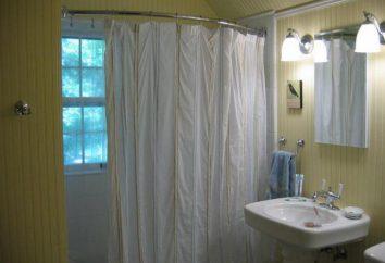 Rod pod prysznic w łazience instalacji zdjęcie