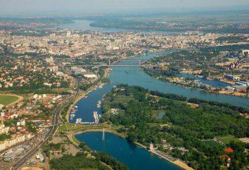 pays unique villes Serbie et leur description