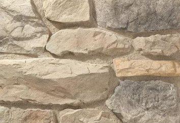 pedras artificiais: as próprias mãos, criando um material de acabamento