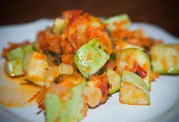 abobrinha no vapor e cenouras e cebolas: quatro opções de refeições cozinhadas