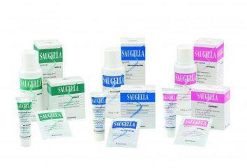 Savon liquide « Saugella » pour l'hygiène personnelle: avis