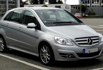 Mercedes B180: Beschreibung, Daten, Bewertungen Eigentümer