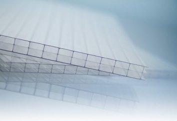 Polycarbonate: caractéristiques. Polycarbonate: tailles, les prix, l'application