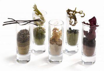 Zastosowanie proszku wodorostów. Wodorosty w kosmetyce i gotowania