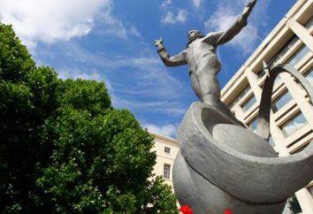 Eroe Yuri Gagarin Unione Sovietica. monumenti eroe