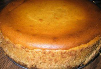 Gâteau à la citrouille. Gâteau à la citrouille et le fromage cottage. Recettes, photos