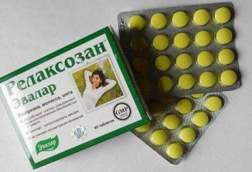 """Drug """"Relaksozan"""": recensioni, istruzioni per l'uso"""