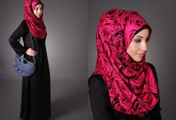Wie ein Hijab binden – eine traditionelle Kopftuch der muslimischen Frau
