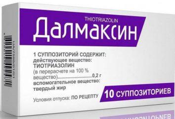 """""""Dalmaksin"""" (świeca): instrukcje i informacje zwrotne"""