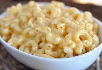 Jak można gotować pieczony makaronu i ser