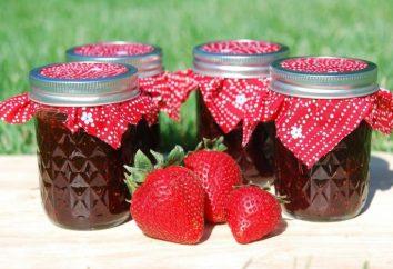 Erdbeermarmelade in multivarka: Vorbereitungen für den Winter