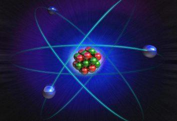 Les informations de base sur la structure de l'atome: les caractéristiques et les particularités de la formule
