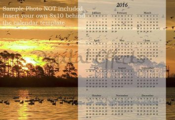 """Como fazer um calendário no """"Photoshop"""" para todo o ano?"""