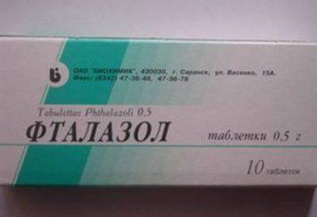 """Drug """"Ftalazol"""": ciò che aiutano queste pillole?"""