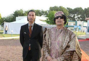 Libijski oficer Al-Mutasim al-Kaddafi: historia życia