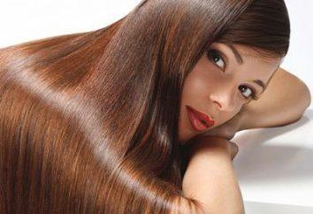 Brasilianische Haarglättung: glattes Haar für eine lange Zeit