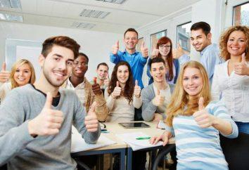 La dedicación a los estudiantes de secundaria: el escenario de eventos