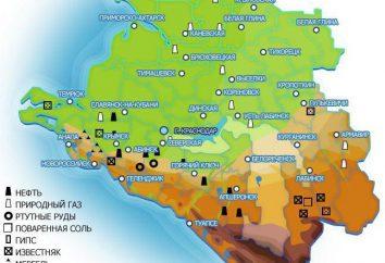Minéraux Territoire de Krasnodar: les eaux minérales et autres richesses