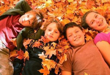 sessione fotografica autunno con il bambino: l'idea della vita all'aria aperta e in studio