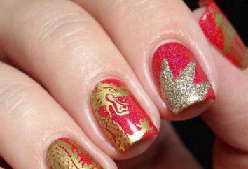 Golden manicure – idee progettuali chiodo