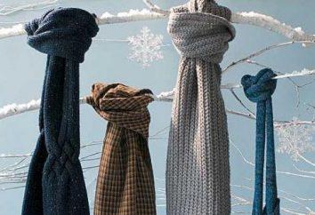 Come legare una sciarpa: invernale ed estiva