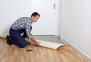 Jak położyć linoleum w mieszkaniu