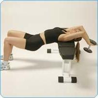 Pull – exercice pour le développement des muscles de la poitrine