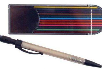 Crayon pince – un outil fiable de l'artiste
