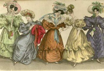 Suknia z 19 wieku (zdjęcie). Jak się ubrać kobietę w 19 wieku