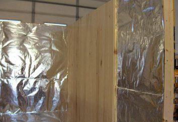 La meilleure isolation thermique pour les bains et les saunas: conseils pour choisir le matériel