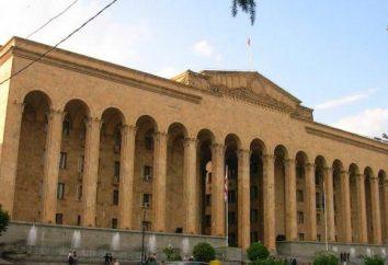 El Parlamento de Georgia y su composición