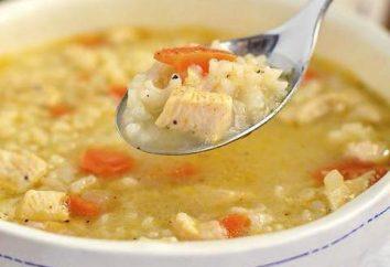Como posso fazer sopa com conservas de peixe e arroz