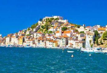 Sibenik, Croatie: histoire, sites touristiques, des richesses naturelles