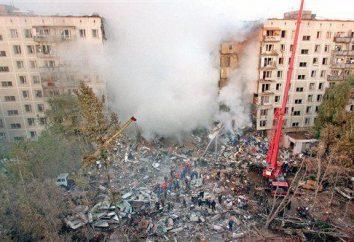 Explosions à Moscou en 1999 dans le secteur résidentiel