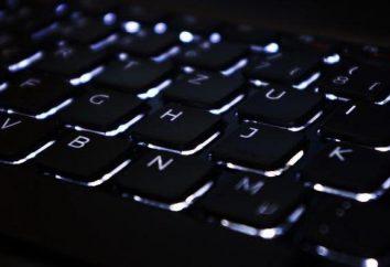 Kombinacja klawiszy na klawiaturze (lista)