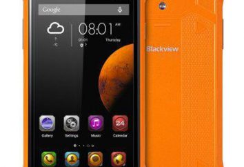 Smartphone Blackview BV5000: recensioni, le specifiche