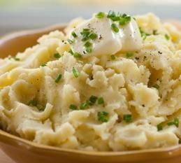 purée de pommes de terre dépend de ses Caloric composants