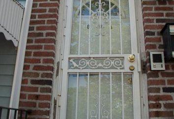 Acabamento encostas portas de entrada: formas, materiais e características do processo