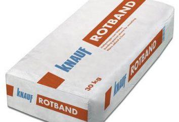 """Plaster """"Rotband"""": specyfikacje techniczne"""