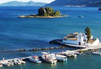 Les charmantes îles de la Grèce: Corfou