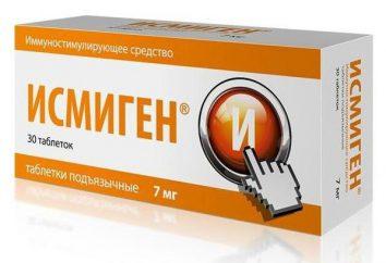 """""""Ismigen"""": controparti più economico, istruzioni per l'uso, recensioni. """"Ismigen"""": analogico russo"""