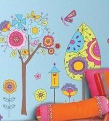 Aplikacja na ścianie – są zaangażowane w dekoracji wnętrz