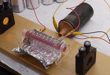 laser a rubino: principio di funzionamento